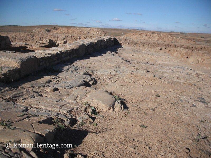 Spain Extremadura Badajoz Medina De Las Torres Archeological Site
