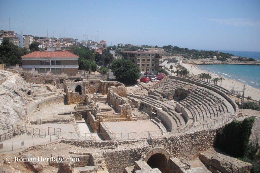 Tarragona Spain  city photo : Spain Tarragona Tarraco Amphitheater anfiteatro 3